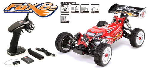 SWORKz S350 FOX8e RTR EP 1/8 Buggy